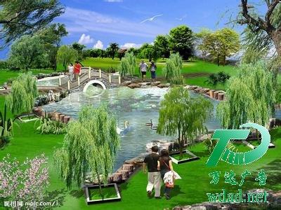园林绿化是当前最吸引人的一种城市建设